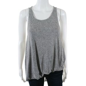 Elizabeth and James Small Gray Tank Top